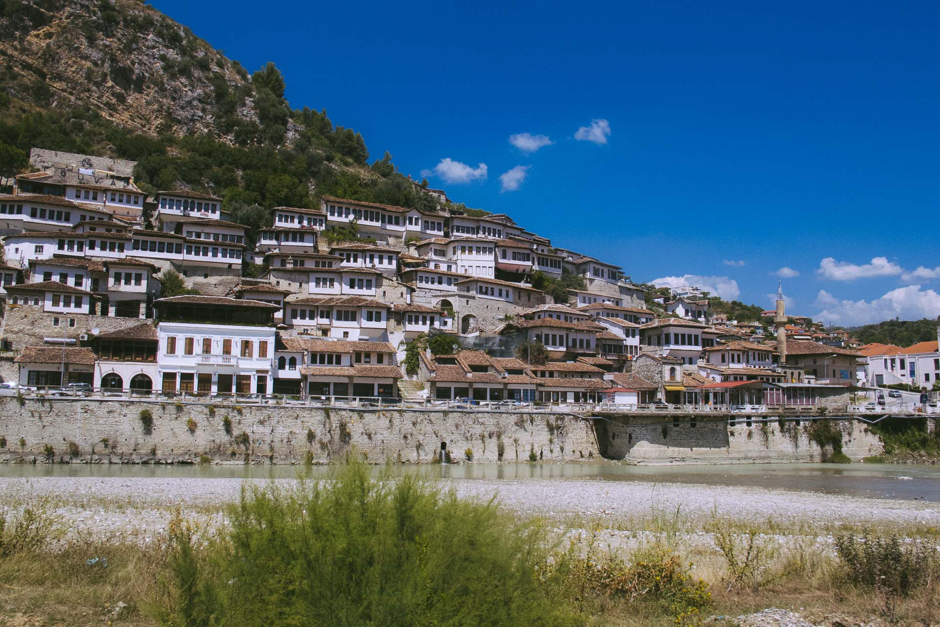 Castle hopping in Berat, Albania