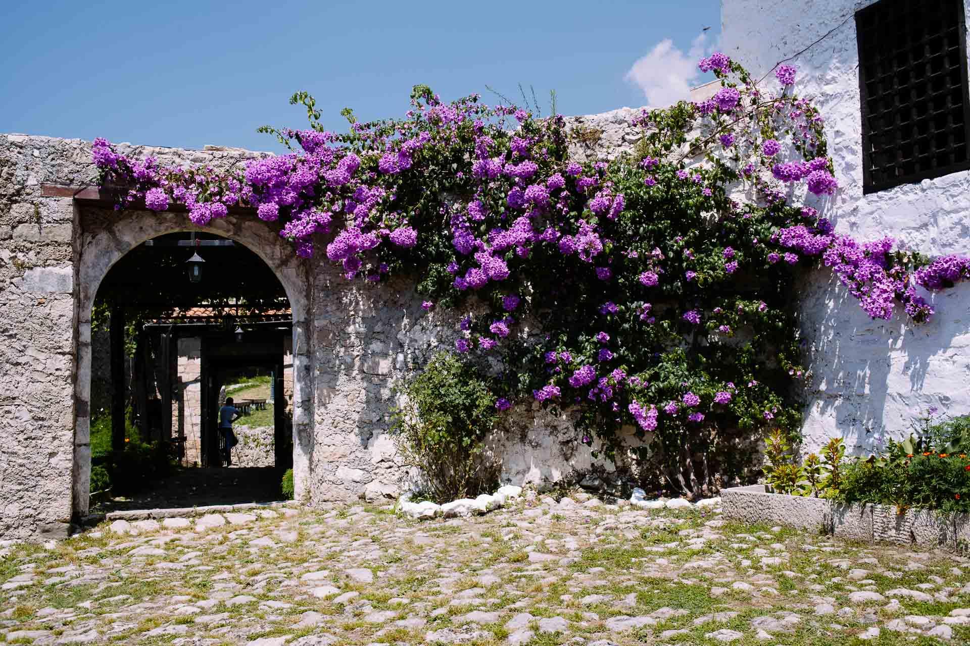 Castle hopping in Kruja, Albania