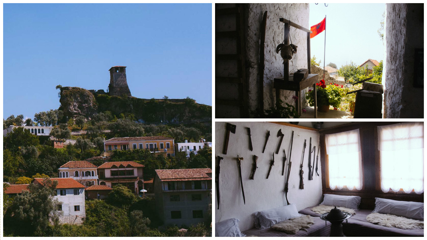 Castle hopping in Kruja, Albania